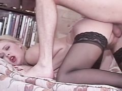 Hot european pornstar Dina Jewel gets fucked